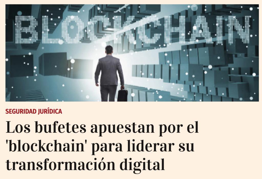 Automatización de un proceso jurídico entero: la secretaría societaria – Boardchain